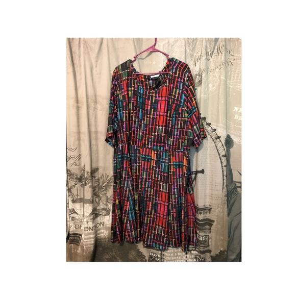 Plus size Triste Dress 5x